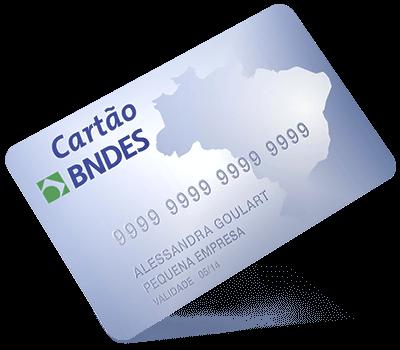 Aceitamos pagamentos com cartão BNDES